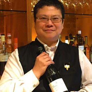 魔法のカウンターで陽気な店主・上田がお待ちしております!