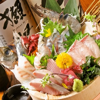 【完全数量限定580円】天草直送鮮魚桶盛り!ご来店はお早目に