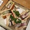 Gyosaikakkon - 料理写真:〆鯖のサンドイッチ