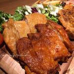 北海道ラクレットチーズ×肉バル  GRILL CHICKEN MARKET -