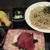 ゆかりな - 料理写真:刺身天ぷらそば御膳1,680円全景