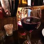バーアムスルーム - 赤ワイン2杯目