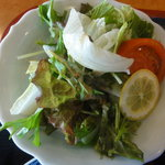 力寿司 - 野菜サラダ