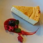 イン ヴィトロ コーヒー ロースター - チーズケーキ