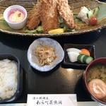 わらべ菜魚洞 - アジフライ定食