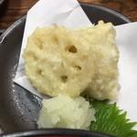 まるさん松本 - 鰆の天ぷら