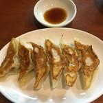 つけ麺 鉄餃子 多聞 - 餃子