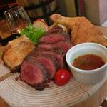 スペインバル リサリサ - 1ポンド肉盛り2690円