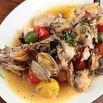 スペインバル リサリサ - 鮮魚のアクアパッツァ1680円