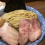 煮干しつけ麺 宮元 - 特製極濃煮干しつけ麺 特盛り