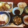割烹 弥作 - 料理写真:♪鮪ほほ肉フライ定食¥750