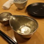 日本酒スローフード とやま方舟 - 能作の錫製酒器