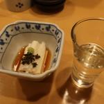 日本酒スローフード とやま方舟 - お通し 380円