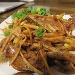 中華菜 高福 - 豚胃袋の麻辣ソース。辛さレベルは『辛々』。