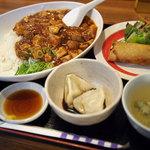 中華ダイニングバル ぱんだ - 日替わりランチ(麻婆豆腐丼)