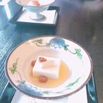 日本料理 笛吹川 - 料理写真:ごま豆腐