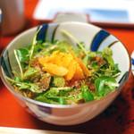 草喰 なかひがし - CTKG(唐墨卵かけご飯)