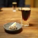 草喰 なかひがし - 水出しコーヒー 黒糖金平糖 綜