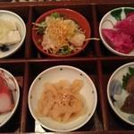 Shirinfanronyun - 料理長おまかせの前菜盛り合わせ