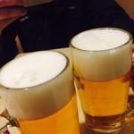 81048129 - 生ビールでカンペー♪