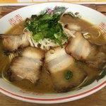 中華そば 遊山 - 遊山(チャーシュー麺)