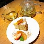 カフェ グローブ - チーズケーキとハーブティ