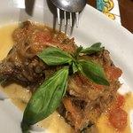 La TRIPLETTA - ランプ肉のソフリット煮込み