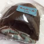 ふくや菓子店 - あんロール(青く色付けした白あんです) チョコミントの味ではありません