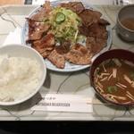 81049816 - 炭焼定食 ダブル  1,080円税込