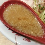 福島壱麺 - 牛ヒレ肉のゴマミソラーメン