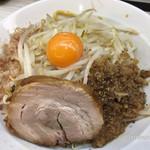 麺屋ガテン - MAZEそば(中)