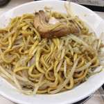 麺屋ガテン - 麺は太い