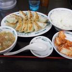 日高屋 - 餃子定食