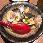 名古屋手羽先 もも焼き 唐揚げ 爽鶏屋 - 豆腐と浅利のあげだし