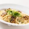 宮島 レ・クロ - 料理写真:「穴子」を贅沢に使用した絶品パスタ『穴子のペペロンチーノ』