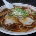 長尾中華そば - 津軽煮干しラーメン(あっさり) 600円 (2018.1)