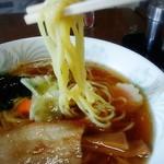 寿し文 - ストレート麺