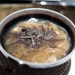 エクアトゥール - フカヒレのスープ仕立て 黒トリュフ風味
