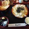 定右衛門 - 料理写真:ざるひもかわとミニ天丼