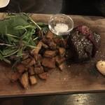 81060496 - 黒毛和牛ランプ肉のグリル