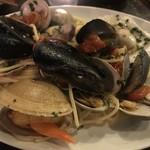 81060513 - 本日の貝類とチェリートマトのペスカトーレ
