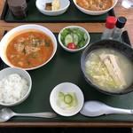 はるかぜ - 料理写真:ラーメンセット