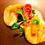 タストゥー - 『帆立貝のポワレとビオ野菜、生からすみ』