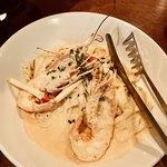 イタリア食堂シェフズ - 手長海老のパスタ