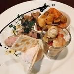 イタリア食堂シェフズ - 前菜5種盛り