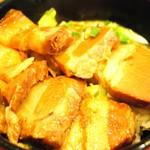 ヤンバル食堂 - ラフテー丼ズーム