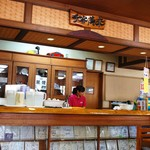 アワセそば食堂 - 店内