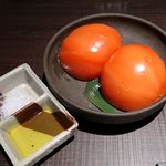 五反田 鳥心 - 冷やしトマト 450円