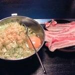 お好み焼き 馬之助 - ワンコインランチ 豚玉