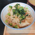 81070611 - 信州野沢菜牛すじ肉の焚き込みご飯
